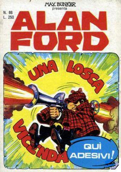 Cover for Alan Ford (Editoriale Corno, 1969 series) #66