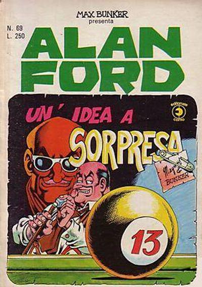 Cover for Alan Ford (Editoriale Corno, 1969 series) #69