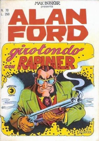 Cover for Alan Ford (Editoriale Corno, 1969 series) #70