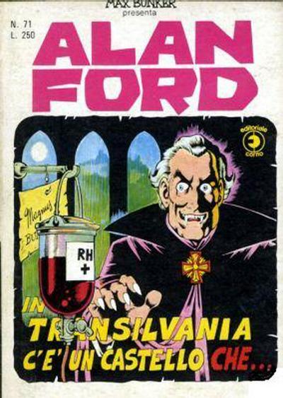 Cover for Alan Ford (Editoriale Corno, 1969 series) #71