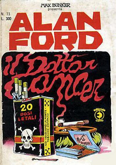 Cover for Alan Ford (Editoriale Corno, 1969 series) #73