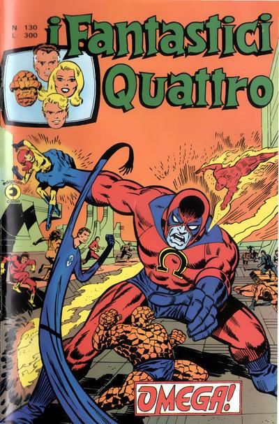 Cover for I Fantastici Quattro (Editoriale Corno, 1971 series) #130