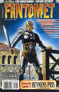 Cover for Fantomet (Hjemmet / Egmont, 1998 series) #15-16/2009