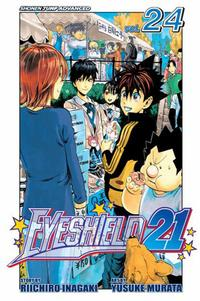 Cover for Eyeshield 21 (Viz, 2005 series) #24