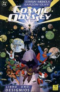 Cover Thumbnail for Cosmic Odyssey (Zinco, 1989 series) #1