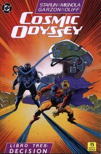 Cover Thumbnail for Cosmic Odyssey (Zinco, 1989 series) #3