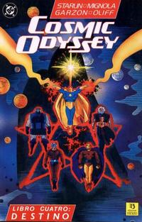 Cover Thumbnail for Cosmic Odyssey (Zinco, 1989 series) #4