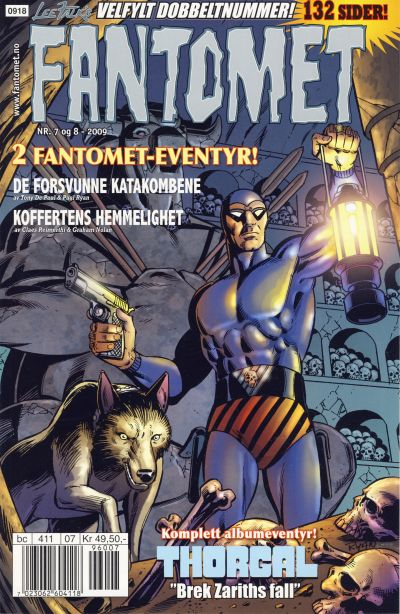 Cover for Fantomet (Hjemmet / Egmont, 1998 series) #7-8/2009