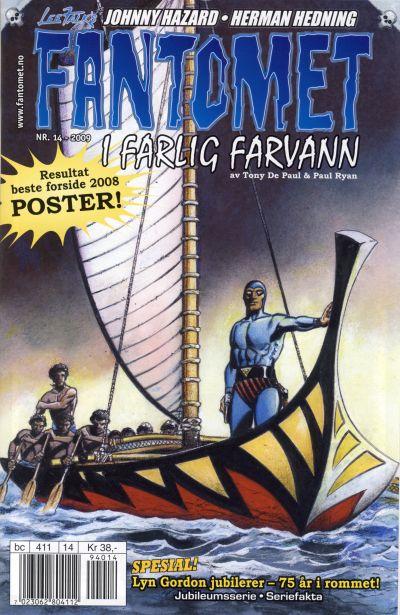 Cover for Fantomet (Hjemmet / Egmont, 1998 series) #14/2009