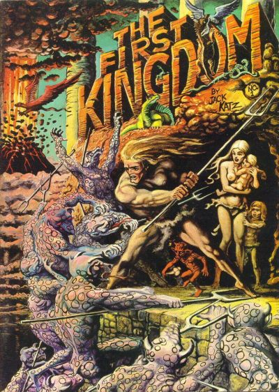 Cover for The First Kingdom (Comics and Comix, 1974 series) #1 [Painted Cover]