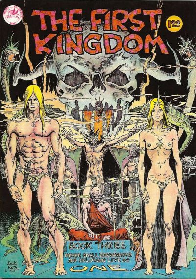 Cover for The First Kingdom (Comics and Comix, 1974 series) #3