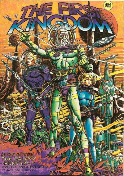 Cover for The First Kingdom (Bud Plant, 1975 series) #7