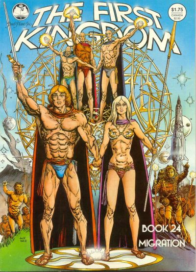 Cover for The First Kingdom (Bud Plant, 1975 series) #24