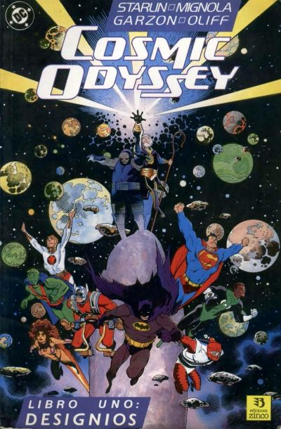 Cover for Cosmic Odyssey (Zinco, 1989 series) #1