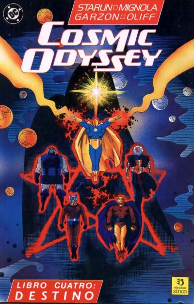 Cover for Cosmic Odyssey (Zinco, 1989 series) #4