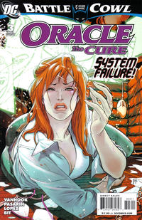 Cover Thumbnail for Oracle: The Cure (DC, 2009 series) #3