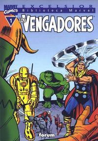 Cover Thumbnail for Biblioteca Marvel: Los Vengadores (Planeta DeAgostini, 1999 series) #1