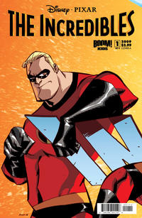 Cover Thumbnail for The Incredibles: Family Matters (Boom! Studios, 2009 series) #1 [Cover A]
