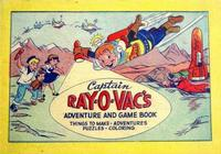 Cover Thumbnail for Captain Ray-O-Vac's Adventure and Game Book (Western, 1952 series)