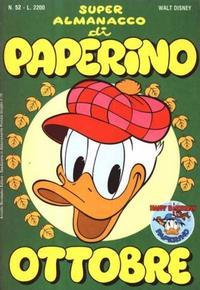 Cover Thumbnail for Super Almanacco di Paperino (Arnoldo Mondadori Editore, 1984 series) #52