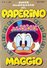 Cover Thumbnail for Super Almanacco di Paperino (Arnoldo Mondadori Editore, 1984 series) #59