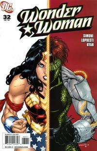 Cover Thumbnail for Wonder Woman (DC, 2006 series) #32 [Direct Edition]