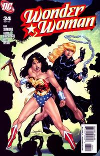 Cover Thumbnail for Wonder Woman (DC, 2006 series) #34