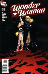 Cover Thumbnail for Wonder Woman (DC, 2006 series) #35