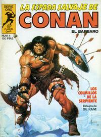 Cover Thumbnail for La Espada Salvaje de Conan (Planeta DeAgostini, 1982 series) #4
