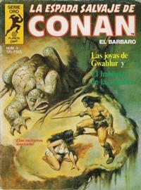 Cover Thumbnail for La Espada Salvaje de Conan (Planeta DeAgostini, 1982 series) #9