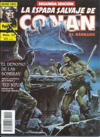 Cover Thumbnail for La Espada Salvaje de Conan (Planeta DeAgostini, 1982 series) #22