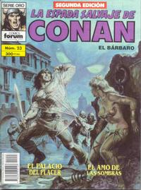 Cover Thumbnail for La Espada Salvaje de Conan (Planeta DeAgostini, 1982 series) #23