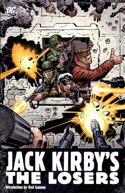 Cover for Jack Kirby's The Losers (DC, 2009 series)
