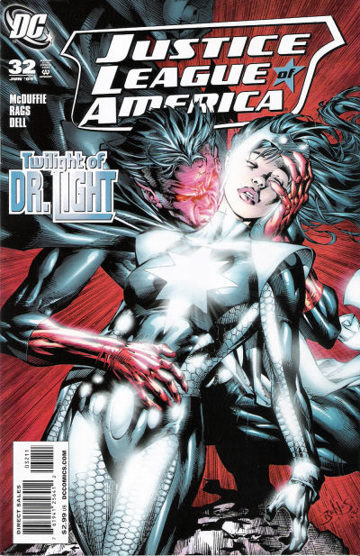Cover for Justice League of America (DC, 2006 series) #32