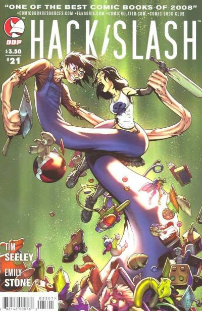 Cover for Hack/Slash: The Series (Devil's Due Publishing, 2007 series) #21