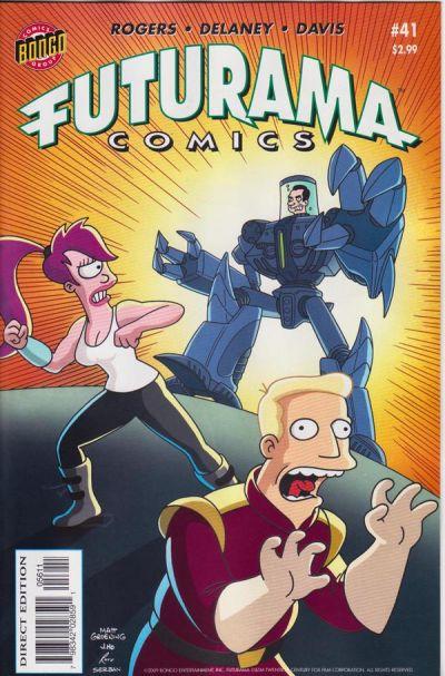Cover for Bongo Comics Presents Futurama Comics (Bongo, 2000 series) #41