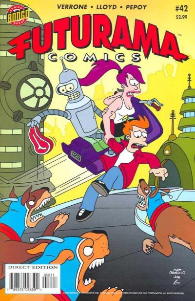 Cover for Bongo Comics Presents Futurama Comics (Bongo, 2000 series) #42