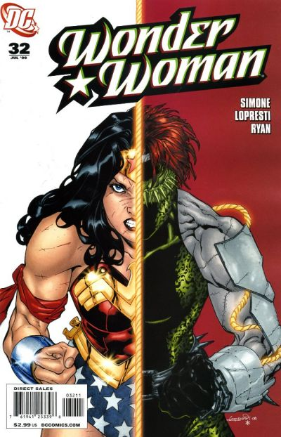 Cover for Wonder Woman (DC, 2006 series) #32 [Direct Edition]