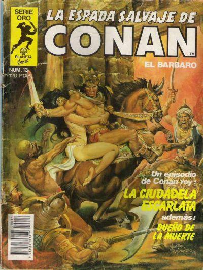 Cover for La Espada Salvaje de Conan (Planeta DeAgostini, 1982 series) #13