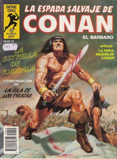 Cover for La Espada Salvaje de Conan (Planeta DeAgostini, 1982 series) #19