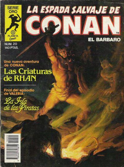 Cover for La Espada Salvaje de Conan (Planeta DeAgostini, 1982 series) #20