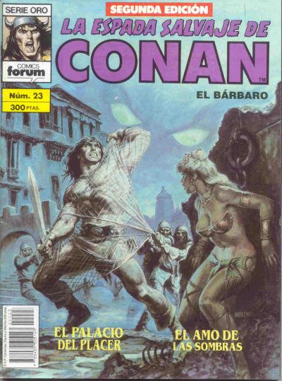 Cover for La Espada Salvaje de Conan (Planeta DeAgostini, 1982 series) #23