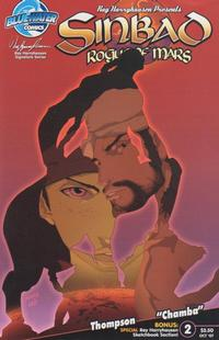 Cover Thumbnail for Sinbad: Rogue of Mars (Bluewater / Storm / Stormfront / Tidalwave, 2007 series) #2 [Cover A]