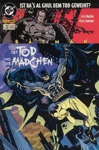 Cover Thumbnail for Batman Sonderband (Panini Deutschland, 2004 series) #3 - Der Tod und die Mädchen