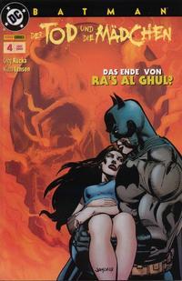 Cover for Batman Sonderband (Panini Deutschland, 2004 series) #4 - Der Tod und die Mädchen