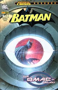 Cover Thumbnail for Batman Sonderband (Panini Deutschland, 2004 series) #6 - Das Omac-Projekt