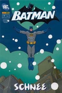 Cover Thumbnail for Batman Sonderband (Panini Deutschland, 2004 series) #7 - Schnee