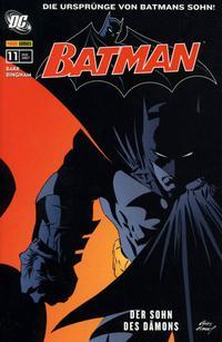 Cover Thumbnail for Batman Sonderband (Panini Deutschland, 2004 series) #11 - Der Sohn des Dämons