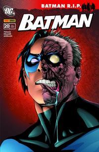 Cover Thumbnail for Batman Sonderband (Panini Deutschland, 2004 series) #20 - Batman R.I.P. - Nightwing