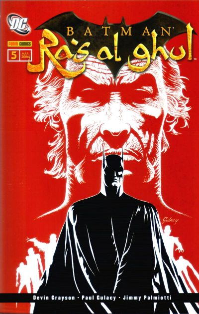 Cover for Batman Sonderband (Panini Deutschland, 2004 series) #5 - Ra's al ghul